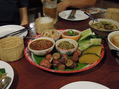 北タイ料理オードブル