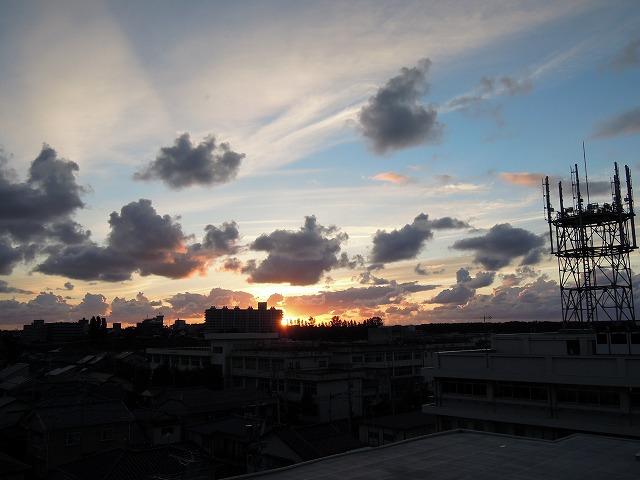 20120924夕日1